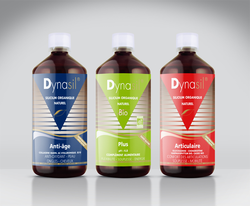 dynasil-etiquette & logo