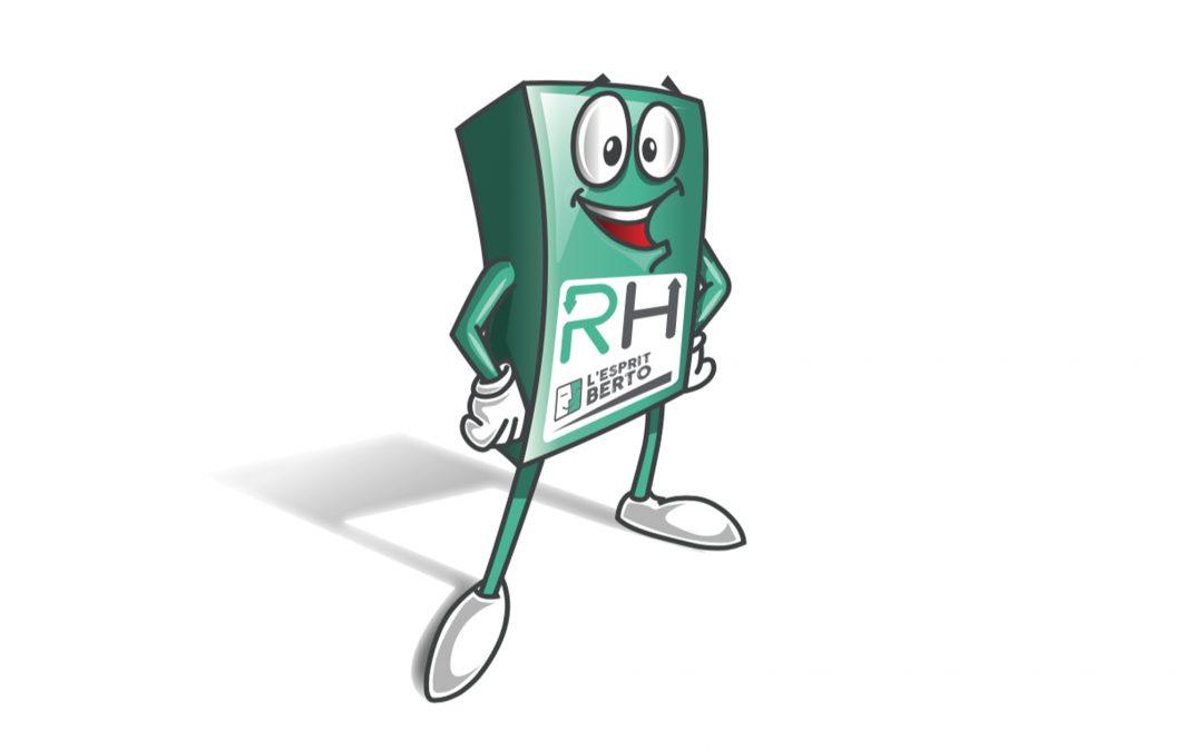 graphiste freelance avignon – mascote-BERTO RH