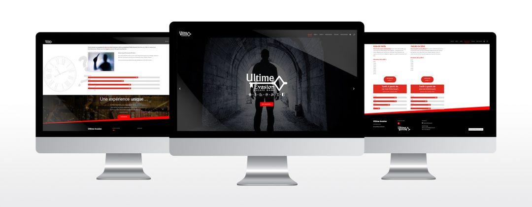 graphiste freelance avignon - Webdesign Ultime evasion